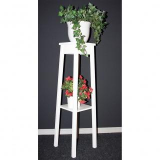 Blumentisch weiß Holz 54.1770-7