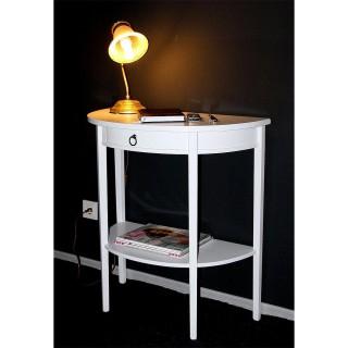 Wandtisch weiß Holz 54.1721-7