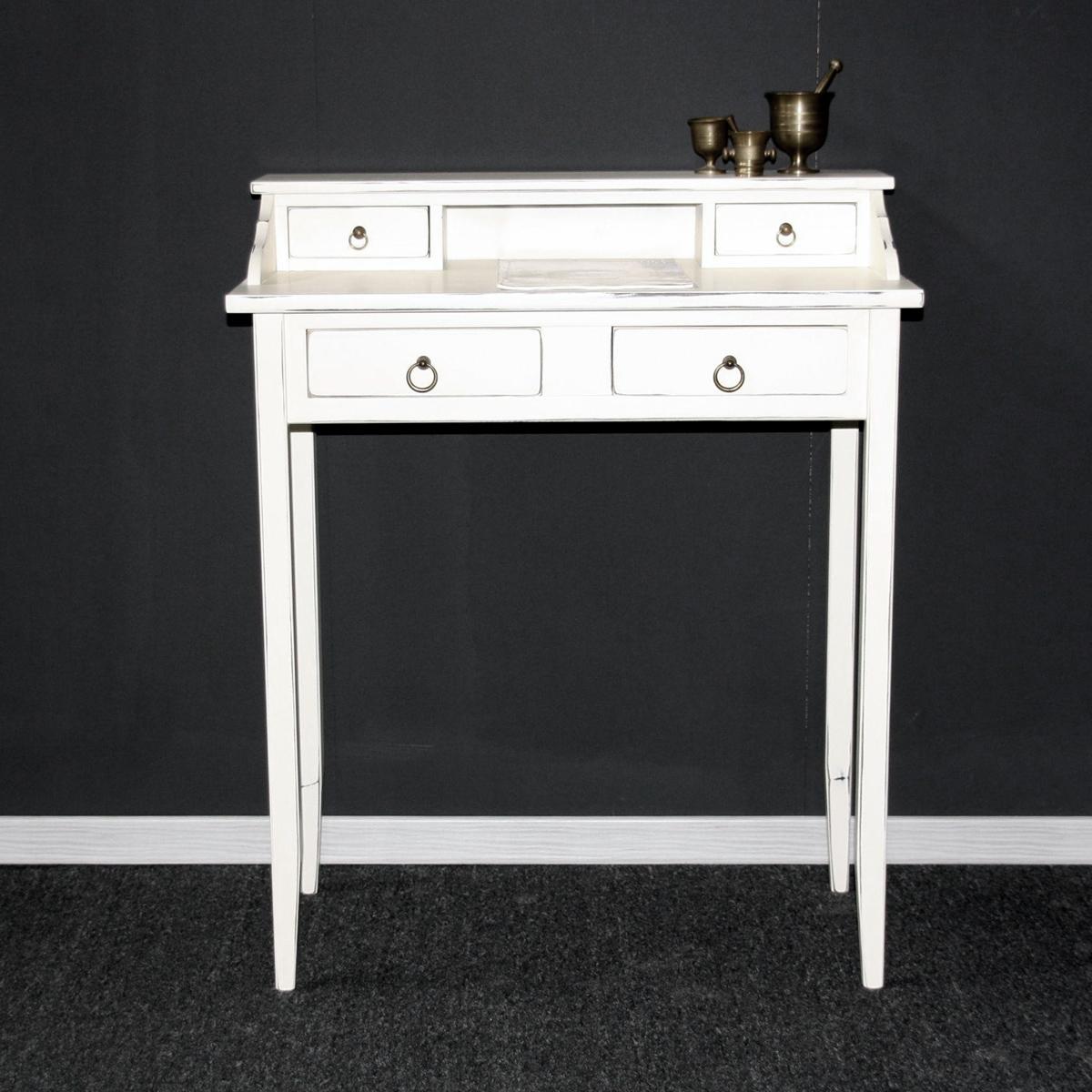 Schreibtisch vintage weiß  Weiße Möbel Vollholz – Italienische Möbel von Casa de mobila