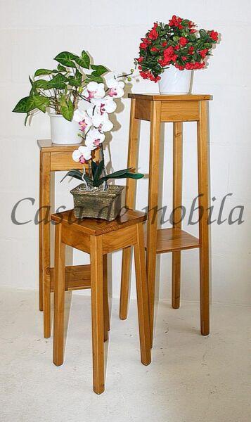 Blumenhocker-Set-Arte-Povera-honigfarben