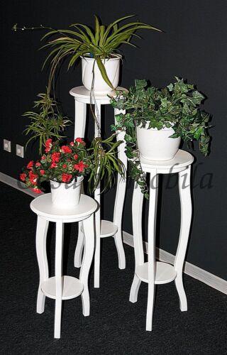 Blumentische-3er-Set-weiss-Massivholz
