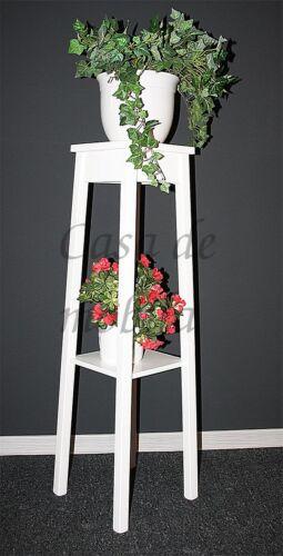 Blumentisch,italienisch-Arte-Povera-weiss-lackiert