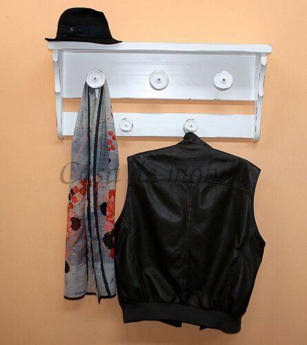 Garderobe-Arte-Povera-Weiss-antik-massiv