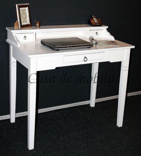 Italienischer-Schreibtisch-Arte-Povera-massiv-weiss