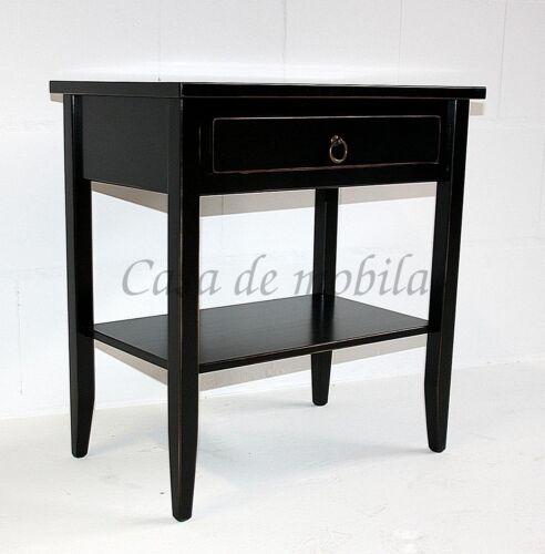 Konsolentisch-Arte-Povera-massiv-schwarz-shabby-chic