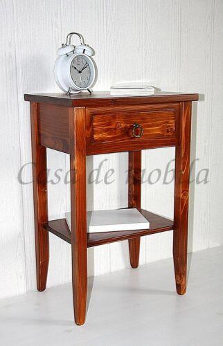 Nachttisch-Komforthoehe-kirschfarben-Massivholz